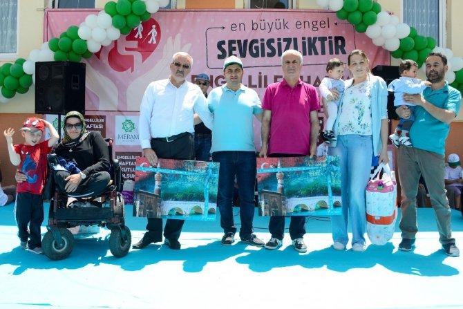 Meram Belediyesinden engellilere Beyşehir gezisi