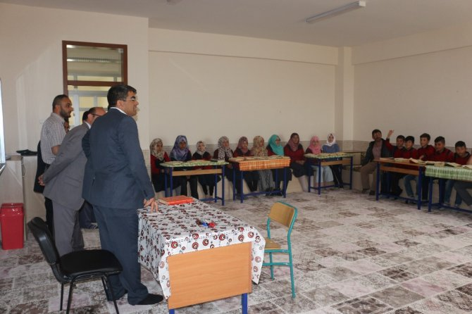 Kulu'da hafız adayı öğrencilere ziyaret