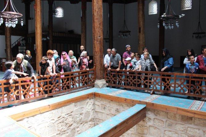 Şehit asker ve şehit polis aileleri Beyşehir'i ziyaret etti