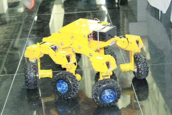 Yengeç robot birçok alanda kullanılabilecek