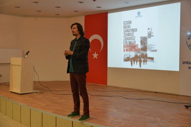 NEÜ Güzel Sanatlar Fakültesi iki konferansa ev sahipliği yaptı