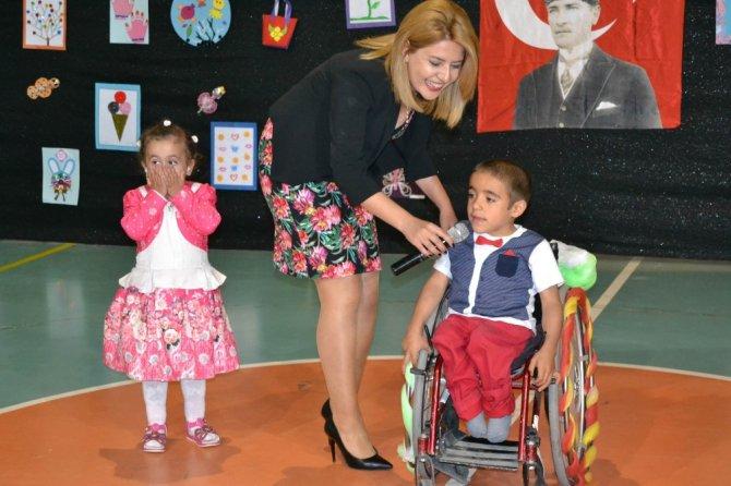 Kulu'da özel eğitim ve rehabilitasyon merkezinde bahar etkinliği yapıldı