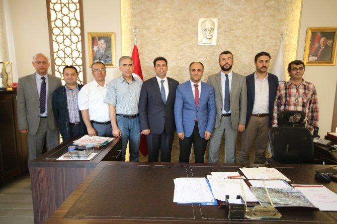 MMO Konya Şubesi'nden Özaltun'a ziyaret