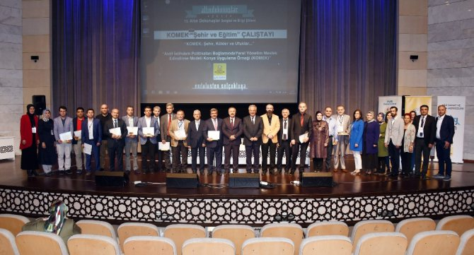 Konya Büyükşehir'den Komek Şehir ve Eğitim Çalıştayı