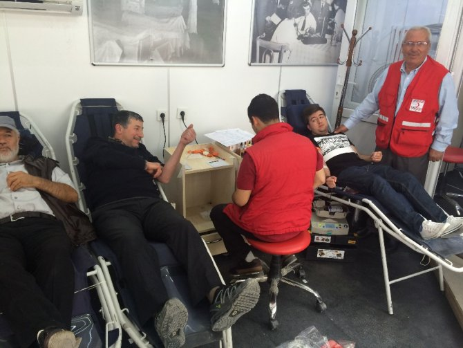 Kulu'da kan bağışı kampanyası