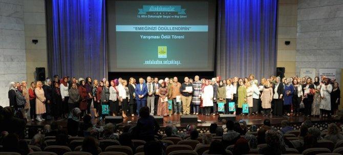Konya'da 'Emeğinizi Ödüllendirin' yarışmasının ödülleri verildi