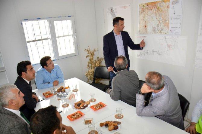 Aksaray'ın içme suyu projesi devam ediyor