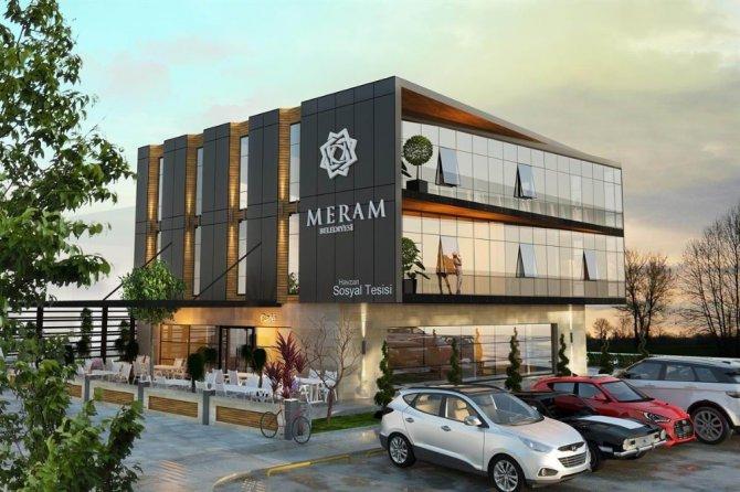 Meram Belediyesinden Havzan Mahallesine aile yaşam merkezi