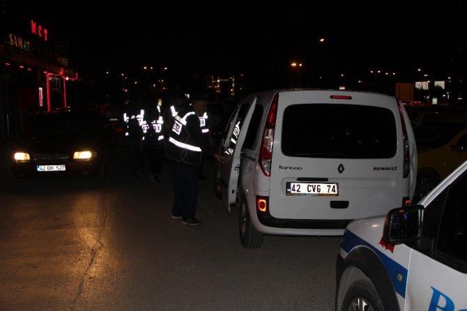 """Konya'da """"Huzur-Türkiye 6"""" uygulaması"""