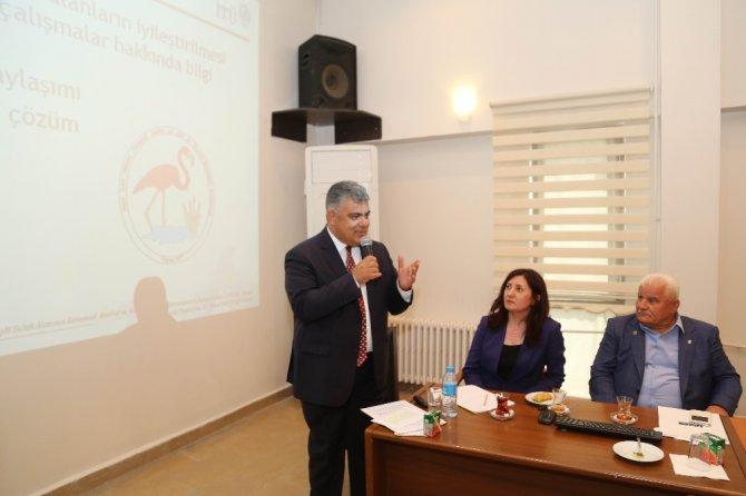 Ereğli Belediyesi'nden Akgöl Projesine dstek