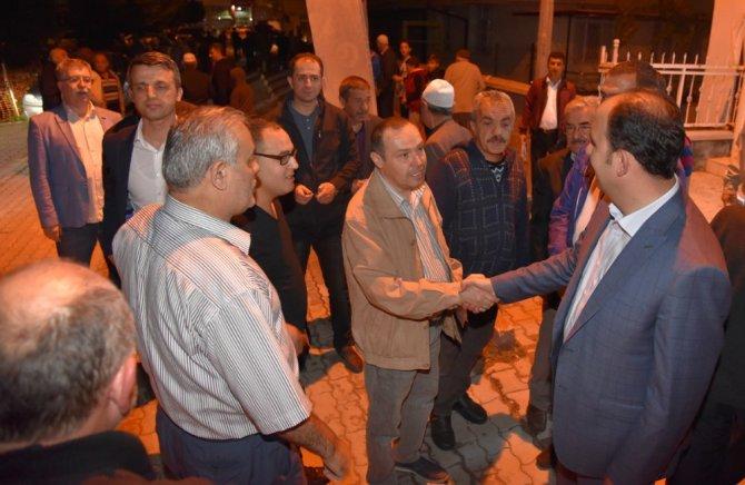 Başkan Altay, teravih buluşmaları geleneğini sürdürüyor
