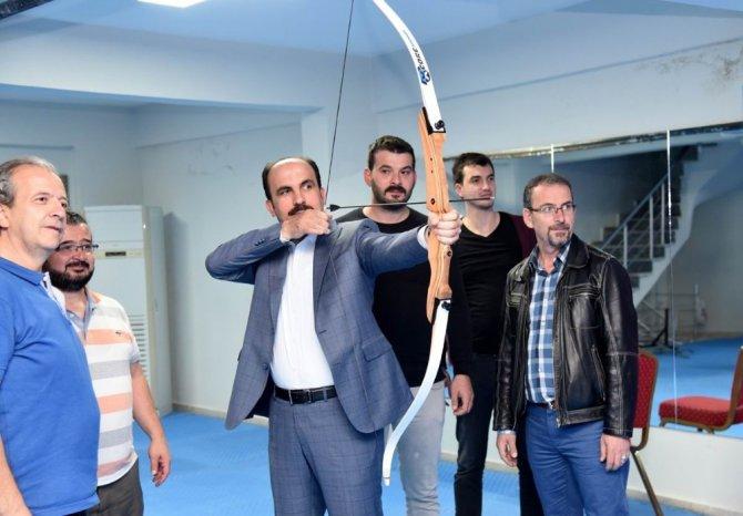 Selçuklu Diriliş Gençlik Merkezi törenle açıldı