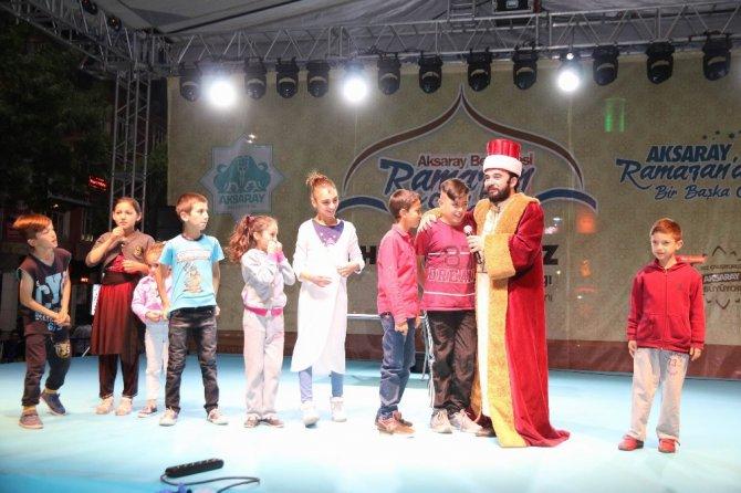 Aksaray'da Ramazan Sokağı Etkinliği sürüyor