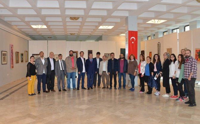 SÜ'de 42 Sanatçı 42 Eser Sergisi