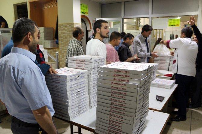 Ramazan sofralarının vazgeçilmezi tahinli pide