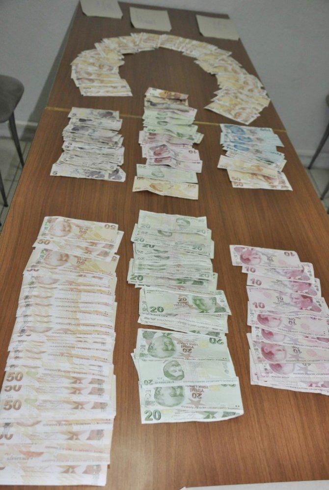 Piyasaya sahte para süren iki şüpheli yakalandı