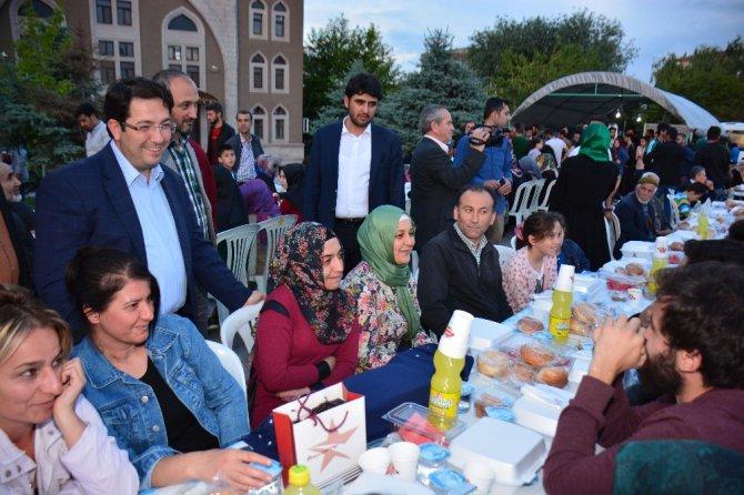 Aksaray'da 2 bin 500 kişi iftar sofrasında buluştu