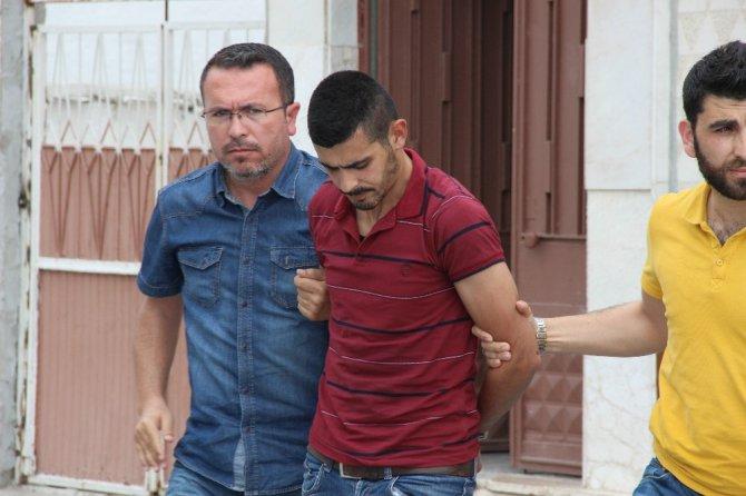 Konya'da polis-şüpheli kovalamacası