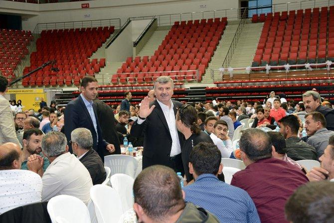 Başkan Akyürek, iftar buluşmalarını sürdürüyor