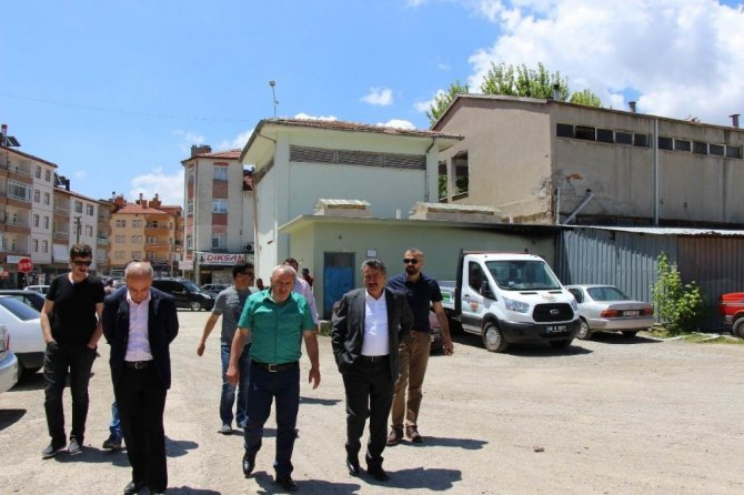 Seydişehir eski garaj ve konut projesi ihalesi yapıldı