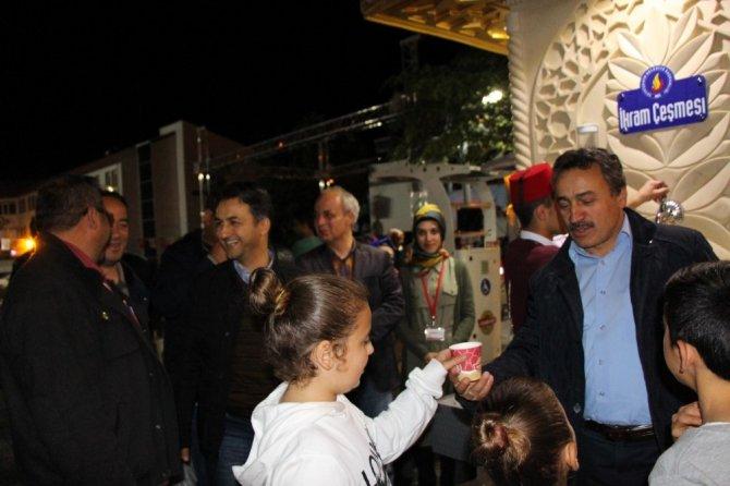 Seydişehir'de İkram Çeşmesinden kışın çorba, yazın şerbet akacak