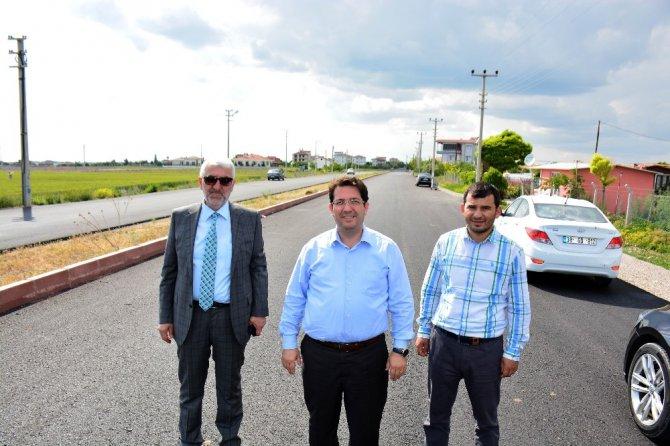 Aksaray Belediyesi asfaltlama çalışlarını sürdürüyor