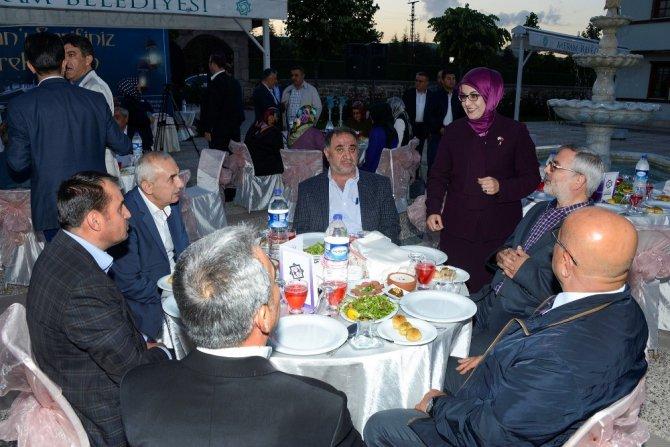 Başkan Toru'dan meclis üyeleri ve teşkilat mensuplarına iftar