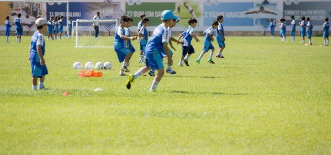 Selçuklu spor okullarında yaz dönemi