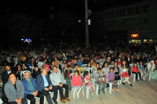 Akşehir Belediyesi'nin Ramazan geceleri programı ilgi gördü