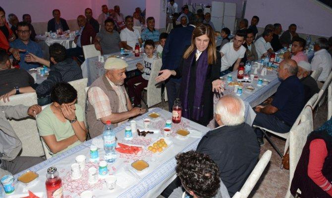 Topakkaya beldesinde iftar programı