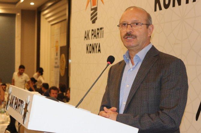 AK Parti Konya İl Başkanlığından iftar programı