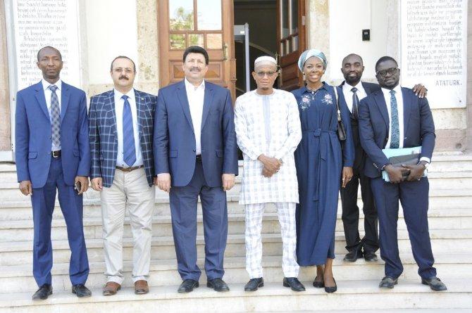 Ganalı Bakan Mustapha Abdul Hamid, Selçuk Üniversitesi'nde