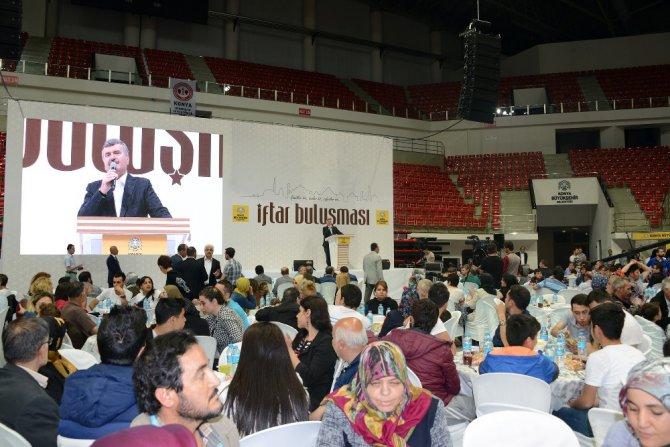 Berber ve kuaför esnafı Büyükşehir'in iftarında buluştu