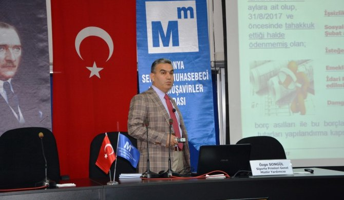 Konya SMMMO'dan bilgilendirme semineri