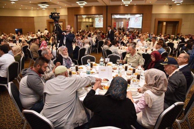 Başkan Altay şehit ve gazi ailelerini ağırladı