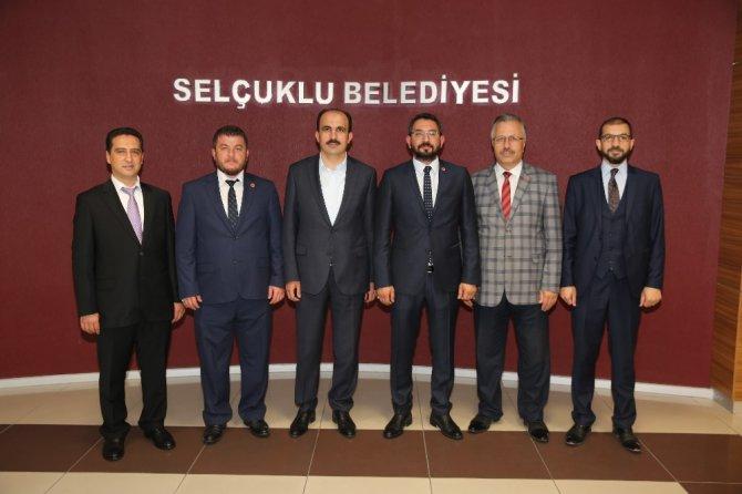 TÜMSİAD Konya Şubesinden Başkan Altay'a ziyaret