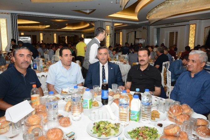 Aksaray'da Damızlık Sığır Yetiştiricileri Birliği üreticilerle iftarla buluştu