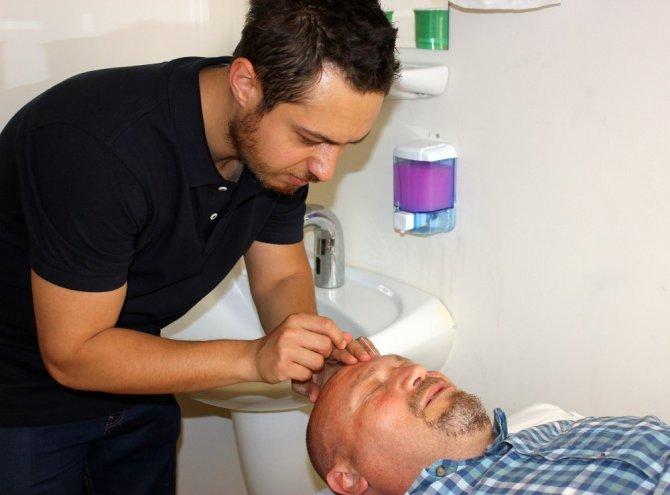 Aksaray'da Akupunktur tedavisine yoğun ilgi
