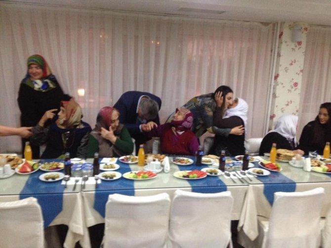 Huzurevine 'Babalar Günü' ziyareti