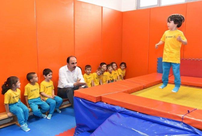 Selçuklu'da yaz spor okullarına yoğun ilgi