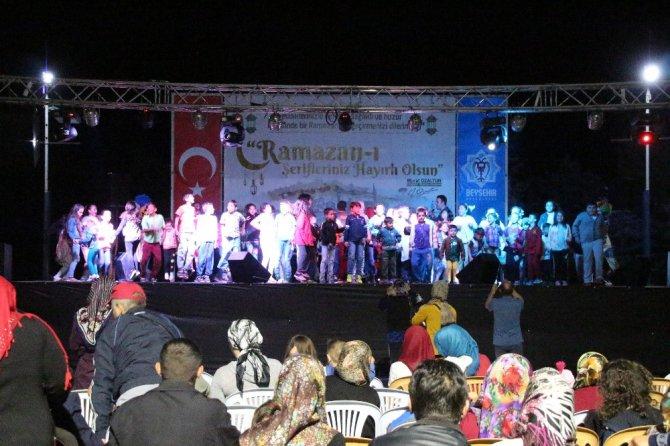 Beyşehir'de Ramazan etkinlikleri devam ediyor