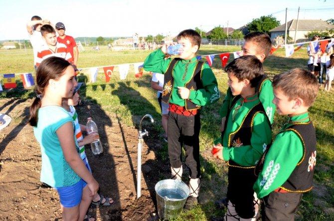 Selçuklu'dan kardeş şehre su kuyusu desteği