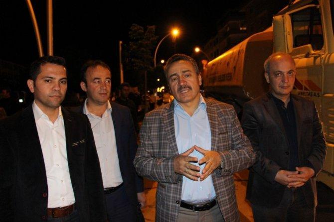 Seydişehir'de cadde ve sokaklar yıkandı
