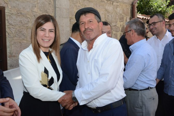 AK Parti Aksaray İl Başkanlığında bayramlaşma