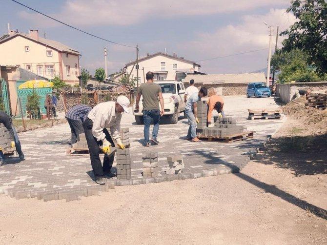 Seydişehir'de altyapı çalışmaları devam ediyor