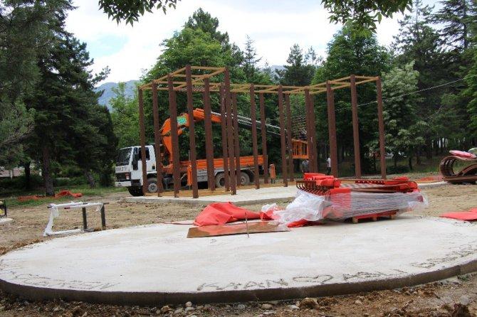 Seydişehir Belediyesinden ilk macera oyun parkı