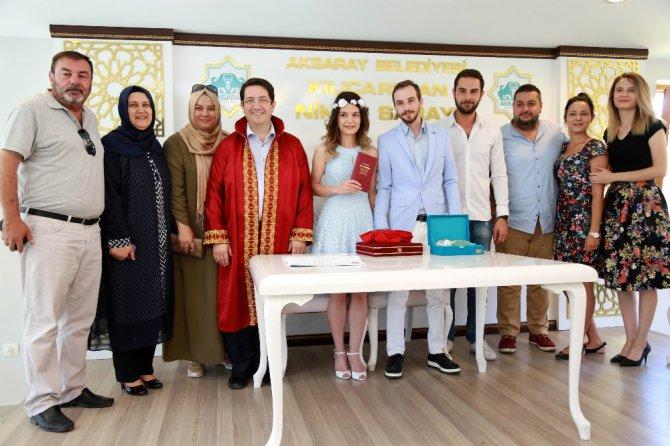 Aksaray'da rekor evlilik