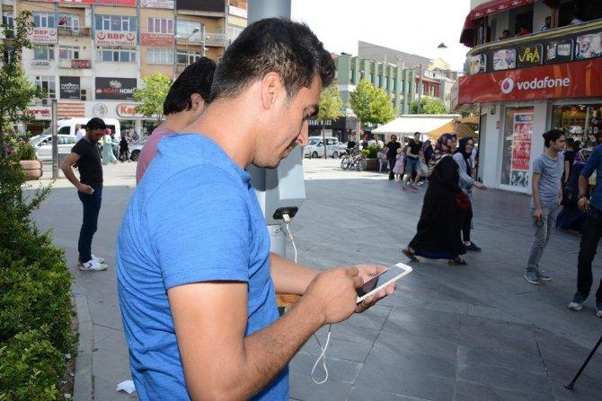 Konya Büyükşehirden halka açık alanlarda ücretsiz internet