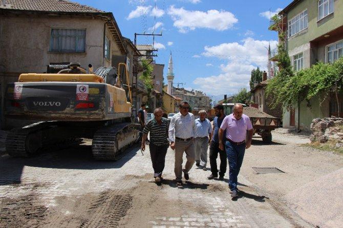 Seydişehir'in Gevrekli Mahallesine prestij cadde