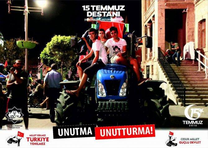 Aksaray Belediyesi 15 Temmuz tweeti ile Türkiye gündeminde